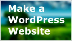 make-wordpress-website
